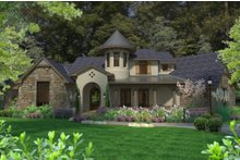 Architectural House Design - European Exterior - Front Elevation Plan #120-185