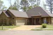 European Style House Plan - 3 Beds 2 Baths 2172 Sq/Ft Plan #8-102 Exterior - Front Elevation