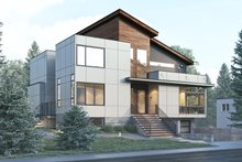 House Plan Design - Contemporary Exterior - Front Elevation Plan #1066-32