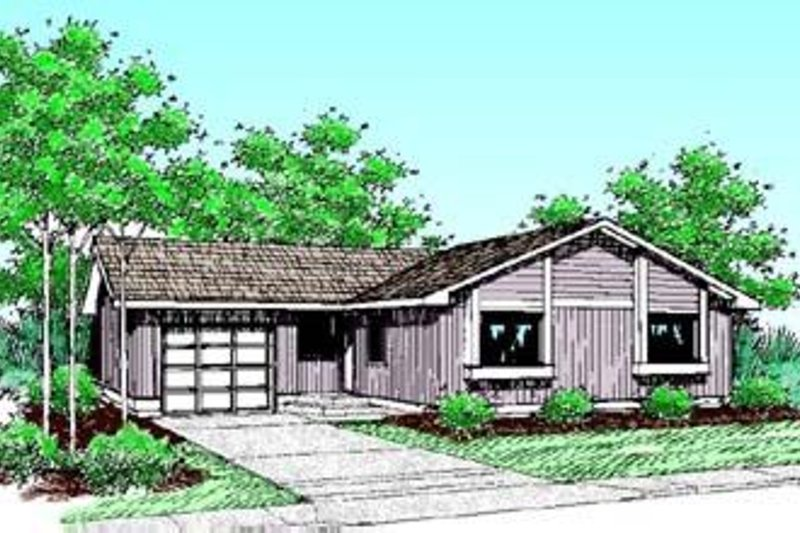 Traditional Exterior - Front Elevation Plan #60-391
