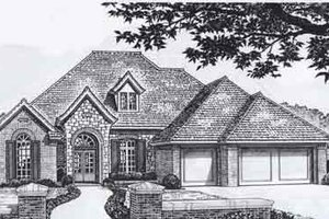 Traditional Exterior - Front Elevation Plan #310-934