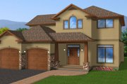 Craftsman Style House Plan - 3 Beds 3 Baths 2152 Sq/Ft Plan #126-158 Exterior - Other Elevation