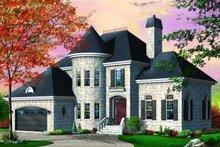 Dream House Plan - European Exterior - Front Elevation Plan #23-367