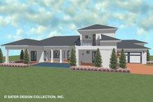 Dream House Plan - Contemporary Exterior - Outdoor Living Plan #930-521