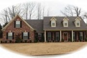 Southern Style House Plan - 3 Beds 2 Baths 2135 Sq/Ft Plan #81-890 Exterior - Front Elevation