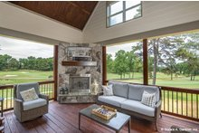 Architectural House Design - Craftsman Exterior - Outdoor Living Plan #929-1051