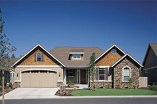 House Design - Craftsman Exterior - Front Elevation Plan #48-103