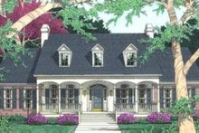 Dream House Plan - Traditional Exterior - Front Elevation Plan #406-169