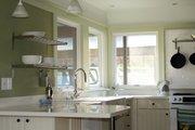 Modern Style House Plan - 2 Beds 2 Baths 1380 Sq/Ft Plan #488-1 Interior - Kitchen