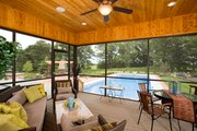 Craftsman Style House Plan - 4 Beds 3.5 Baths 5832 Sq/Ft Plan #51-414 Exterior - Outdoor Living