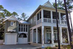 Beach Exterior - Outdoor Living Plan #443-15