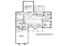 Ranch Floor Plan - Main Floor Plan Plan #45-578