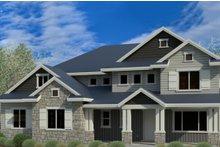 House Plan Design - Craftsman Exterior - Front Elevation Plan #920-4