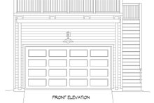 Architectural House Design - Contemporary Exterior - Front Elevation Plan #932-111