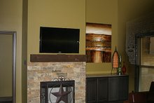 Traditional Interior - Family Room Plan #17-2400