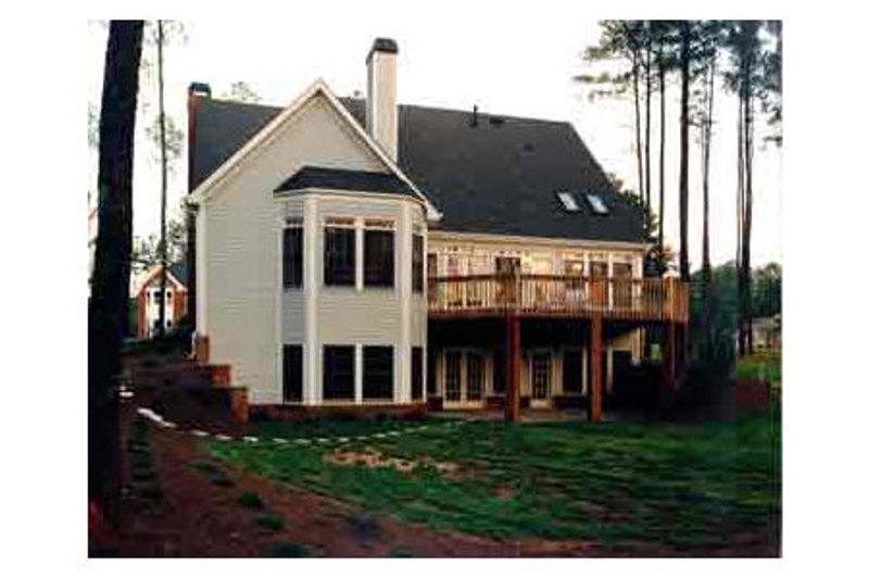 Colonial Exterior - Other Elevation Plan #429-15 - Houseplans.com