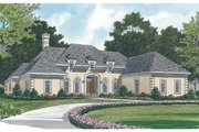 European Style House Plan - 3 Beds 2.5 Baths 2500 Sq/Ft Plan #453-30 Exterior - Other Elevation