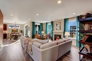 Contemporary Style House Plan - 3 Beds 3 Baths 2869 Sq/Ft Plan #569-35