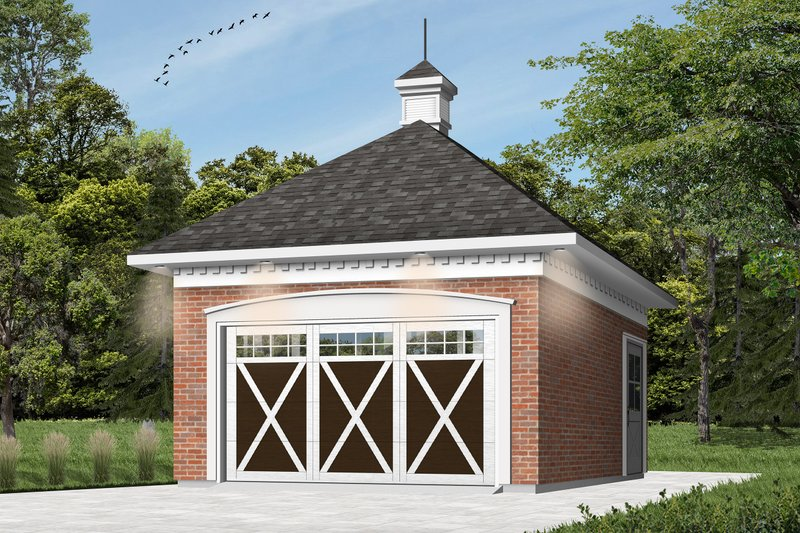House Plan Design - Colonial Exterior - Front Elevation Plan #23-425