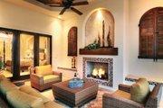 Mediterranean Style House Plan - 4 Beds 4.5 Baths 3790 Sq/Ft Plan #930-13