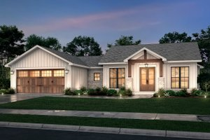 Farmhouse Exterior - Front Elevation Plan #430-246