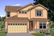Traditional Style House Plan - 4 Beds 2.5 Baths 2196 Sq/Ft Plan #116-271 Exterior - Front Elevation