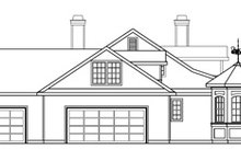 Dream House Plan - Traditional Exterior - Other Elevation Plan #124-576