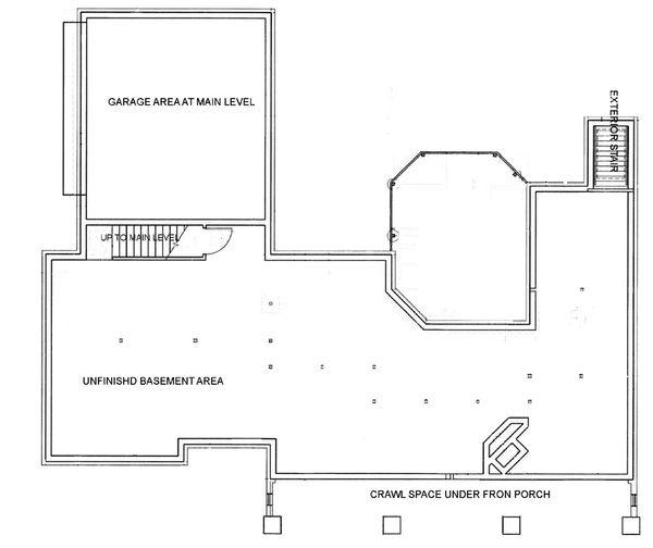 Architectural House Design - European Floor Plan - Other Floor Plan #45-114
