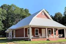 House Plan Design - Cottage Exterior - Front Elevation Plan #44-165
