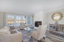 Architectural House Design - Farmhouse Interior - Family Room Plan #928-328