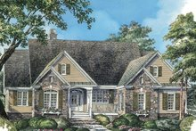 Home Plan - Country Exterior - Front Elevation Plan #929-46