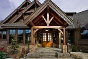 Craftsman Style House Plan - 3 Beds 2.5 Baths 3780 Sq/Ft Plan #132-207 Exterior - Outdoor Living