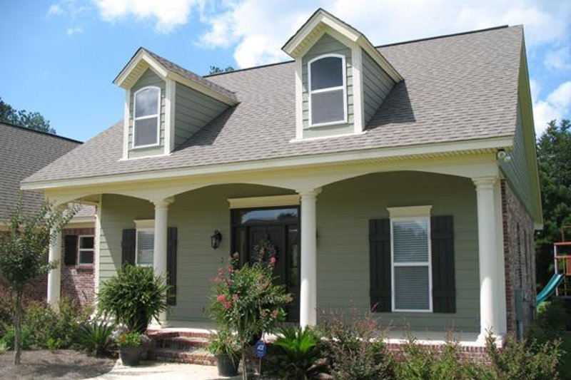 Traditional Exterior - Other Elevation Plan #21-221 - Houseplans.com