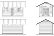 Colonial Style House Plan - 0 Beds 0 Baths 160 Sq/Ft Plan #922-6