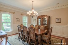 Home Plan - European Interior - Dining Room Plan #929-479
