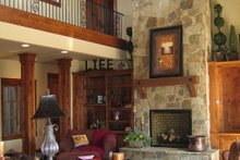 Great room photo of Craftsman style home