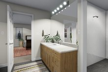 Architectural House Design - Traditional Interior - Master Bathroom Plan #1060-63