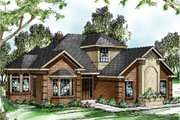 House Plan - 4 Beds 3 Baths 2285 Sq/Ft Plan #124-191 Exterior - Front Elevation