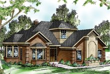 Home Plan - Exterior - Front Elevation Plan #124-191