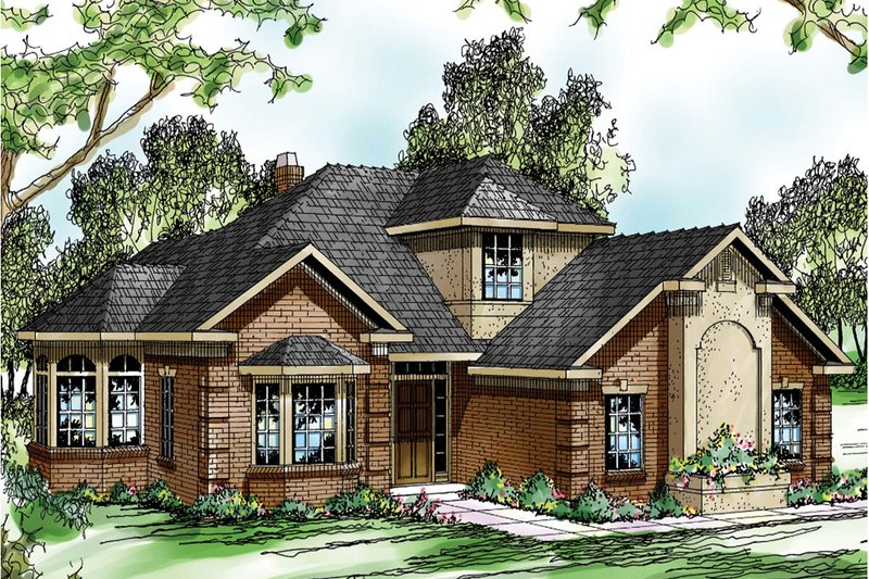 House Plan - 4 Beds 3 Baths 2285 Sq/Ft Plan #124-191