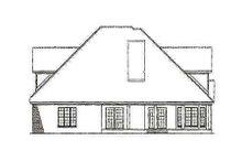 House Plan Design - Craftsman Exterior - Rear Elevation Plan #17-2133