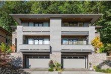 Modern Exterior - Front Elevation Plan #48-261