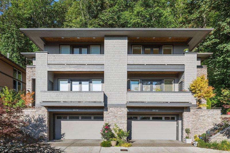 House Plan Design - Modern Exterior - Front Elevation Plan #48-261