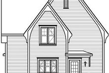 Dream House Plan - Traditional Exterior - Rear Elevation Plan #23-821