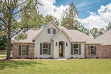 Home Plan - European Exterior - Front Elevation Plan #430-84