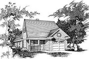 Cottage Style House Plan - 4 Beds 3 Baths 1265 Sq/Ft Plan #329-165 Exterior - Front Elevation