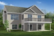 Craftsman Style House Plan - 3 Beds 3 Baths 2776 Sq/Ft Plan #1057-20