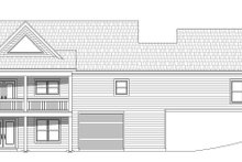 Country Exterior - Rear Elevation Plan #932-36