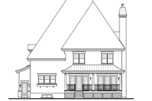 Dream House Plan - European Exterior - Rear Elevation Plan #23-657