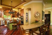 Mediterranean Style House Plan - 5 Beds 6 Baths 6834 Sq/Ft Plan #20-2166 Exterior - Other Elevation